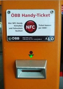 NFC Enabled Machine