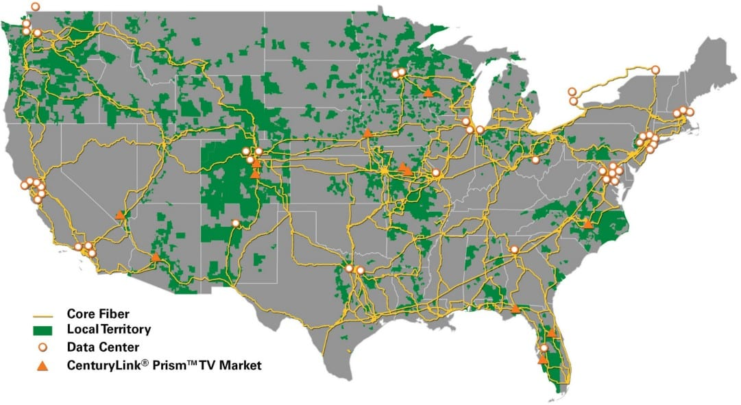 Is Prism TV From CenturyLink Right For You - Bandwidth speeds us map