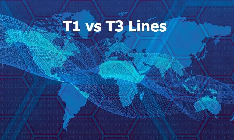 T1 vs T3 Lines