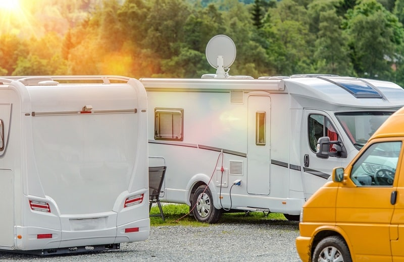 Set Up an RV Satellite Internet Connection