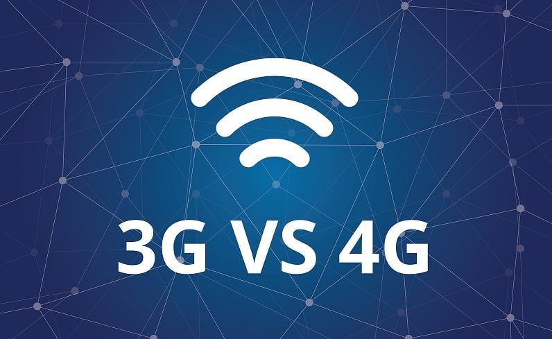 Difference between WiFi, 3G and 4G