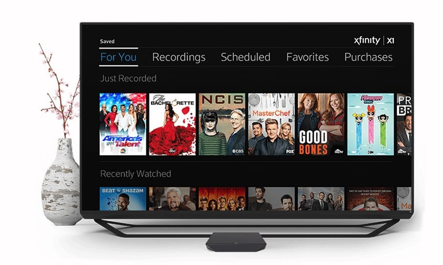 Comcast X1 Cloud DVR