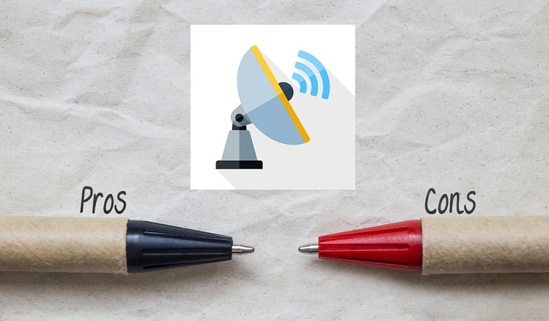 Pros and Cons of Satellite Internet