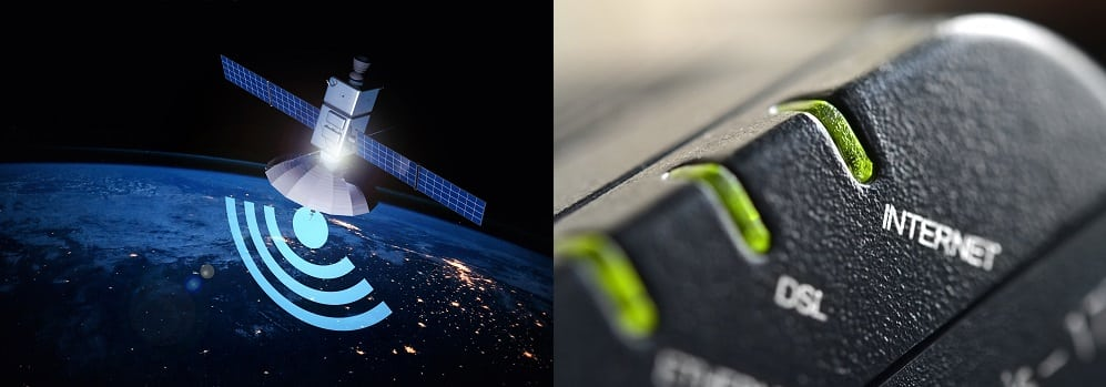 Satellite Internet vs DSL Internet