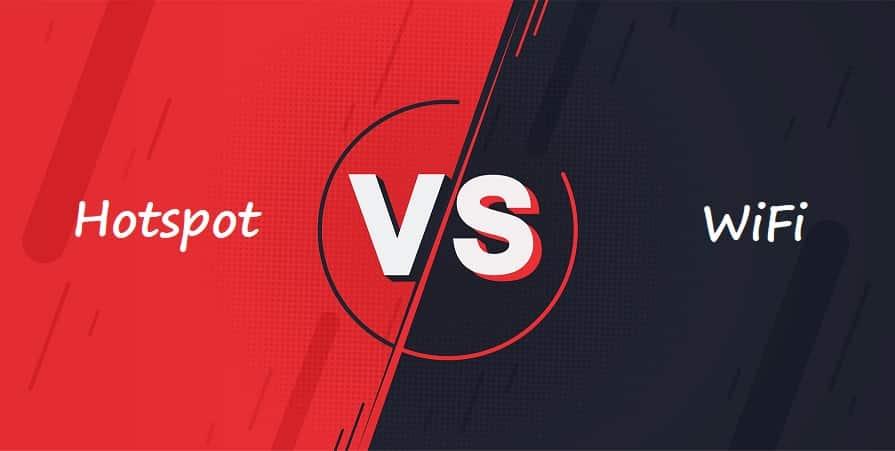 Hotspot vs WiFi