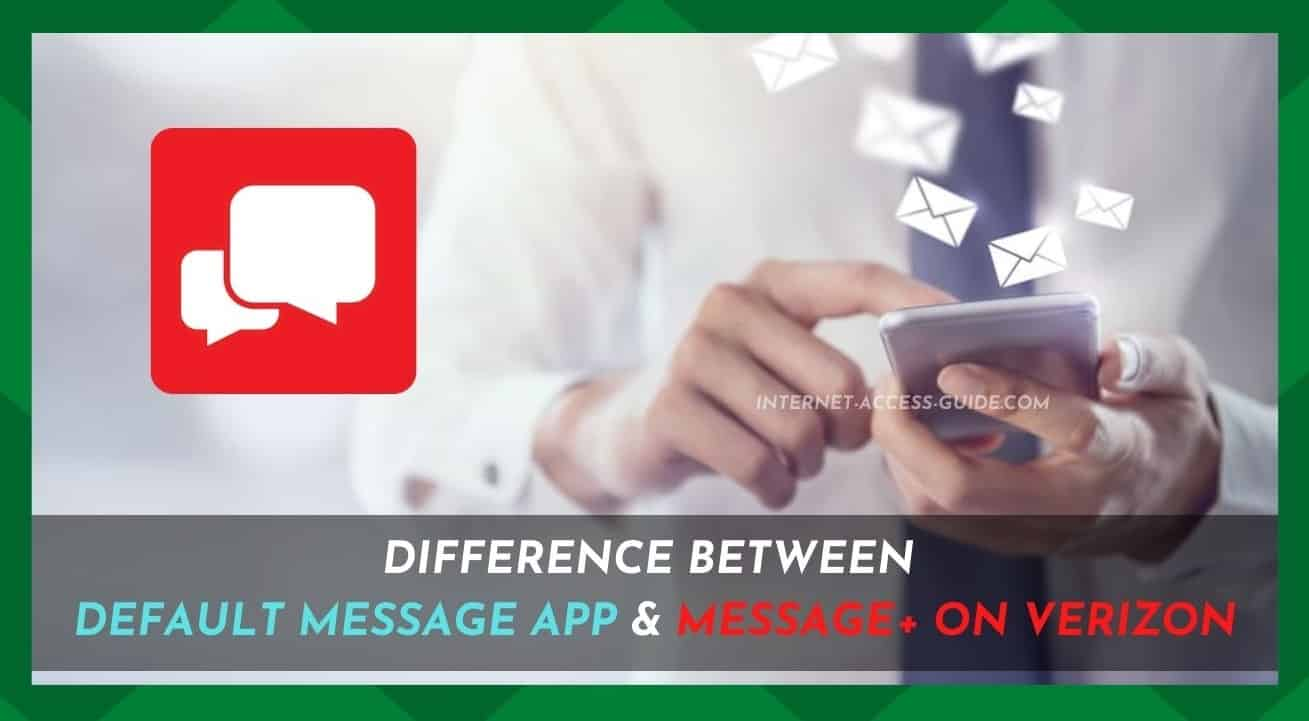 Difference Between Message And Message Plus on_Verizon