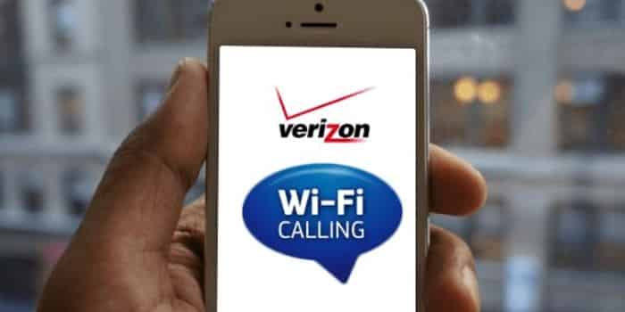 Verizon WiFi Calling on iPhone