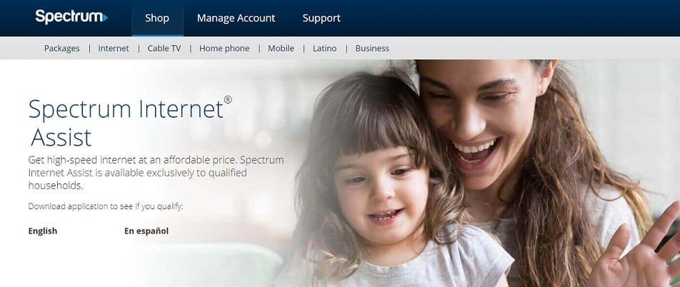 what is spectrum internet assist