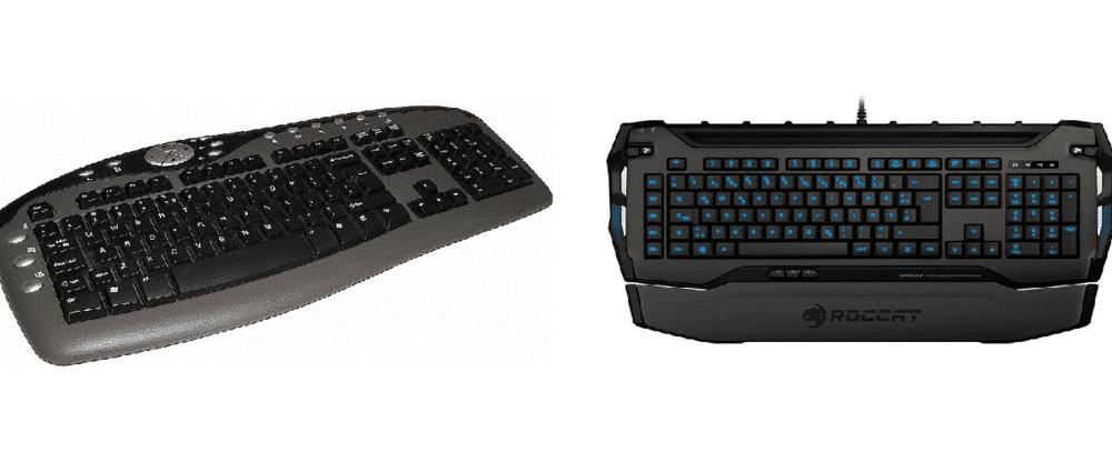 Roccat Skeltr vs Wireless Keyboard
