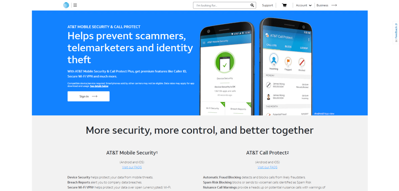 What Is AT&T Call Protect