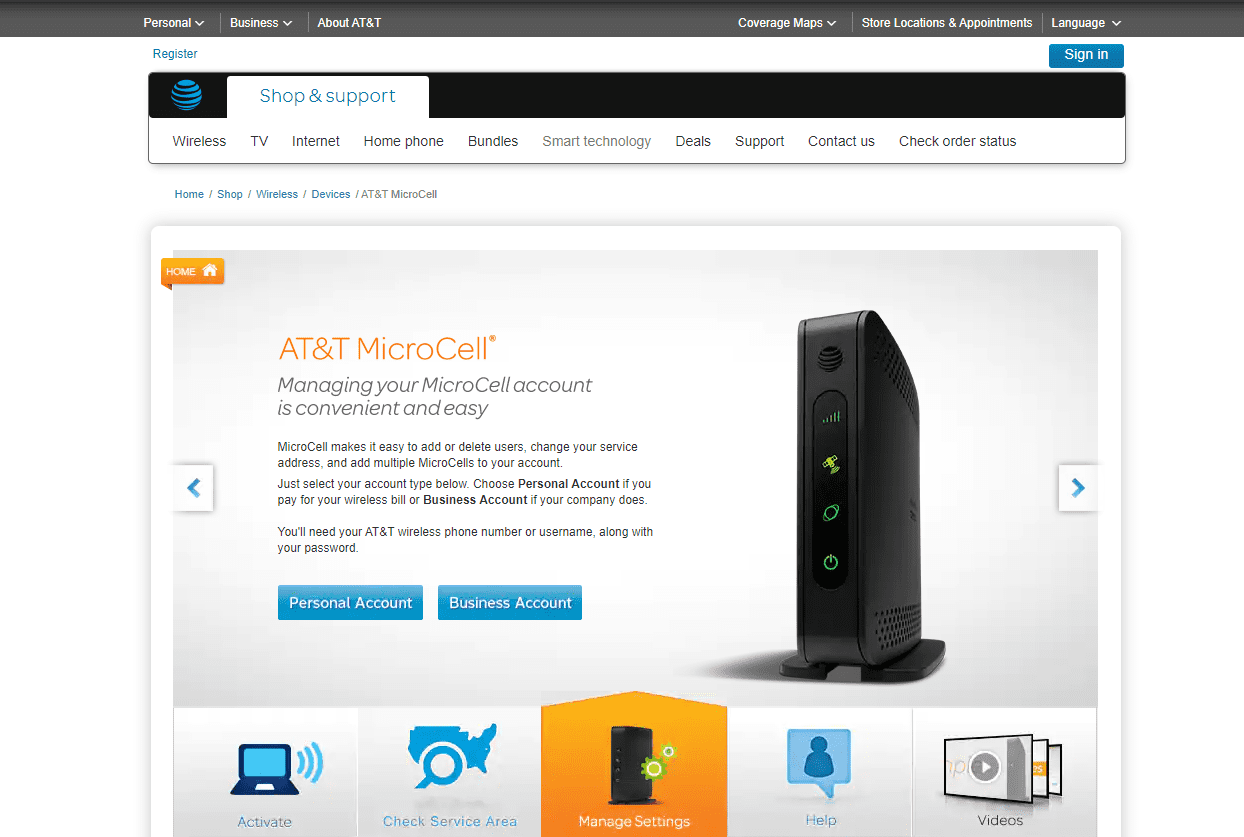 What Is AT&T Microcell