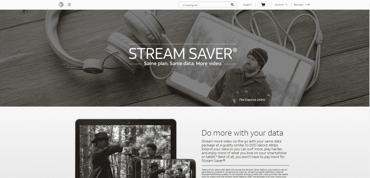 What Is AT&T Stream Saver