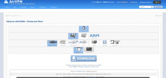 airvpn best singapore vpn for linux