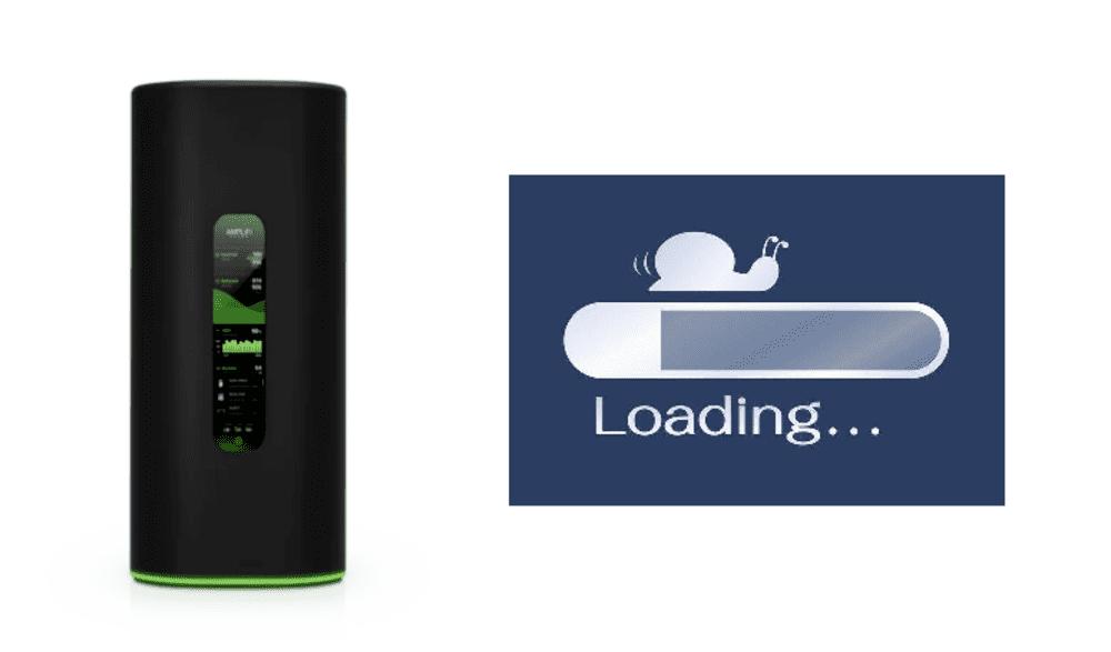 amplifi router slow speeds