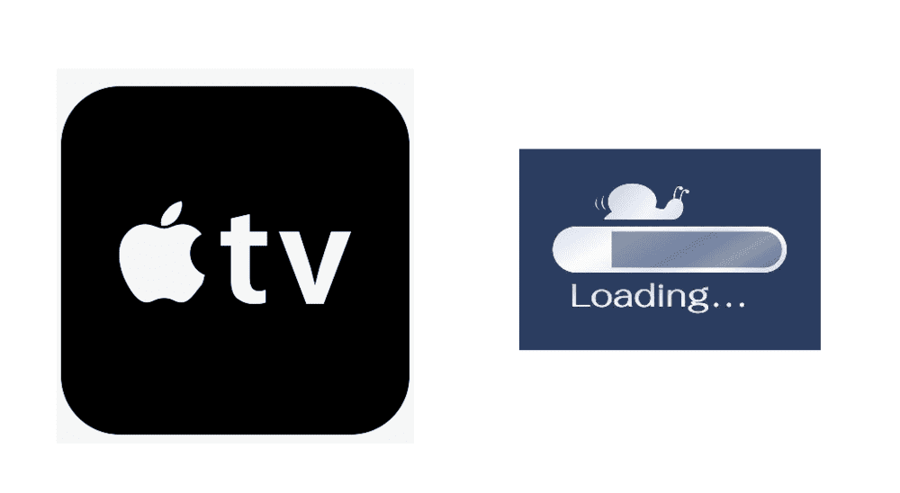 apple tv slow internet