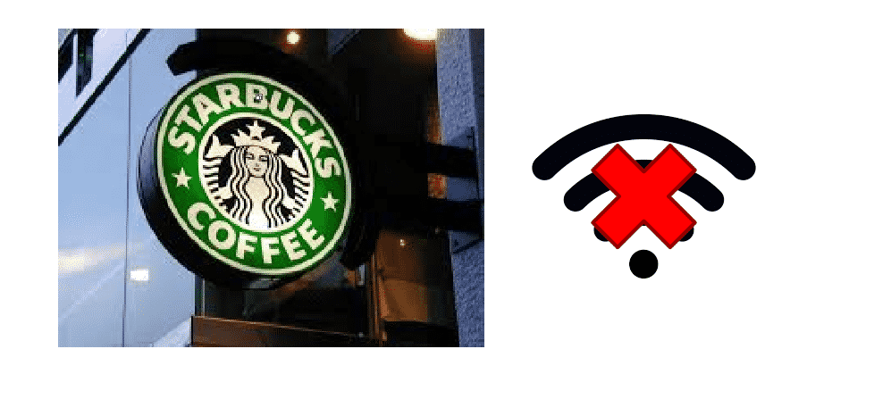 can't connect to starbucks wifi