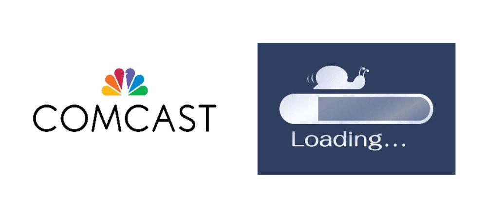 comcast router slow