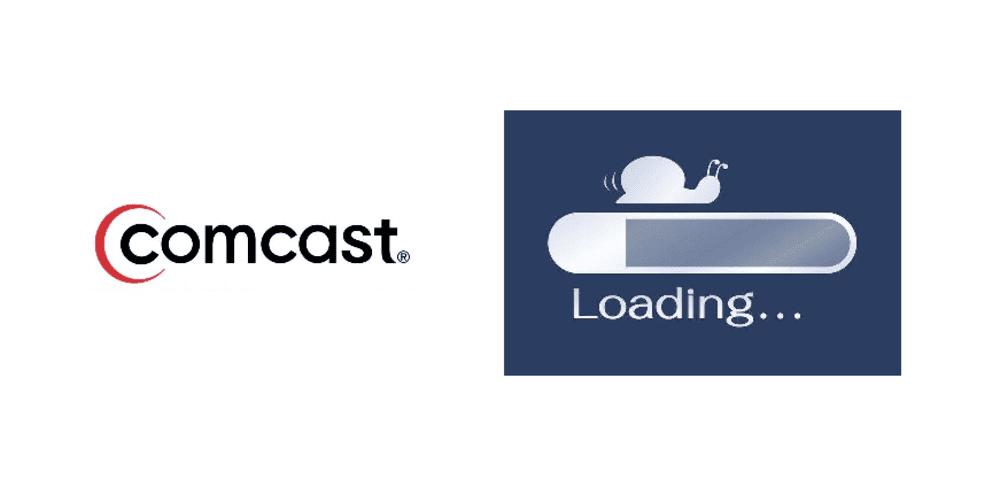 comcast slow internet