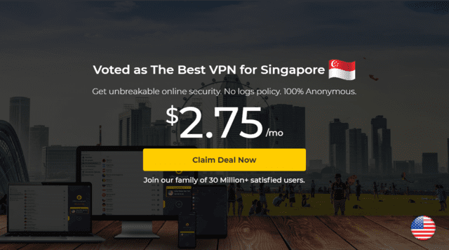 CyberGhost Best Singapore VPN For iPhone