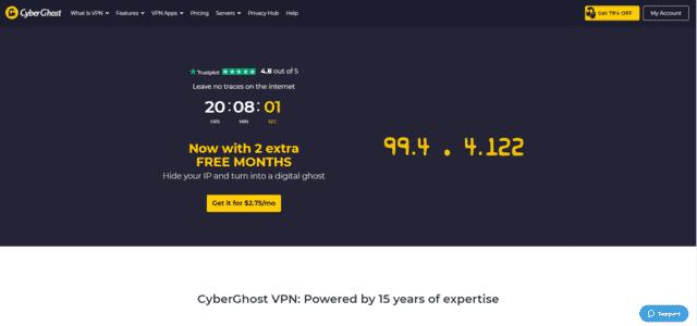cyberghost best singapore vpn for pc