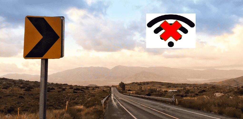 how to get internet in the middle of nowhere