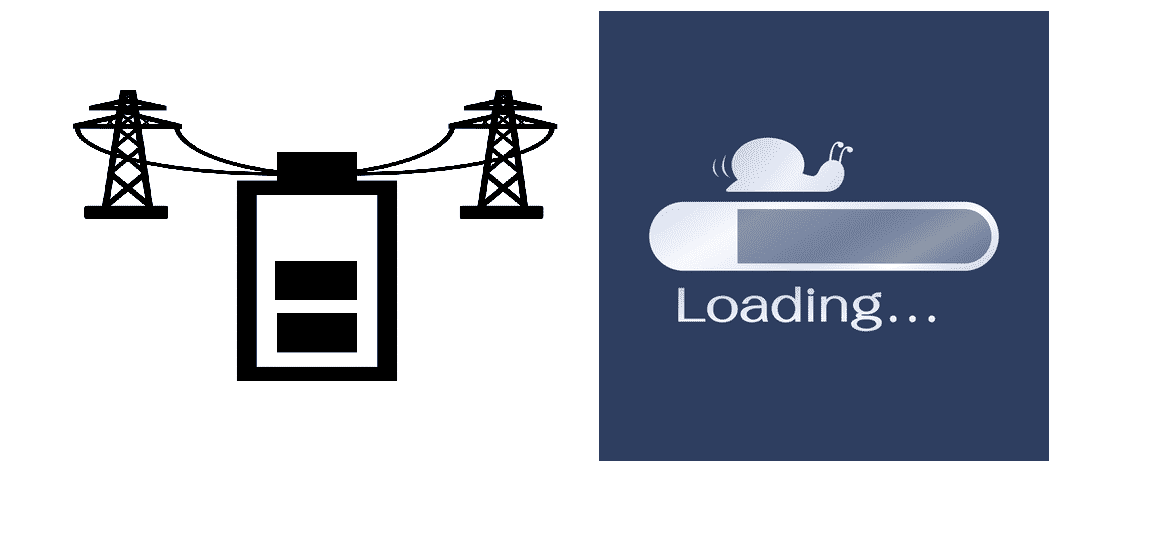 internet slow after power outage