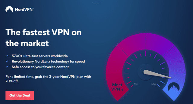 NordVPN Best Singapore VPN For Gaming