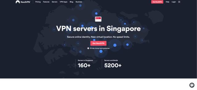 nordvpn best singapore vpn for india