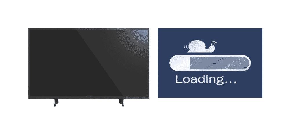 panasonic smart tv slow internet