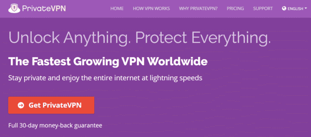 PrivateVPN Best Singapore VPN For Maplestory