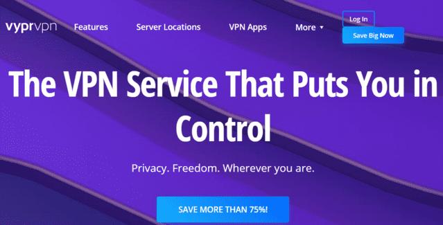 VyprVPN Best Singapore VPN For Kindle
