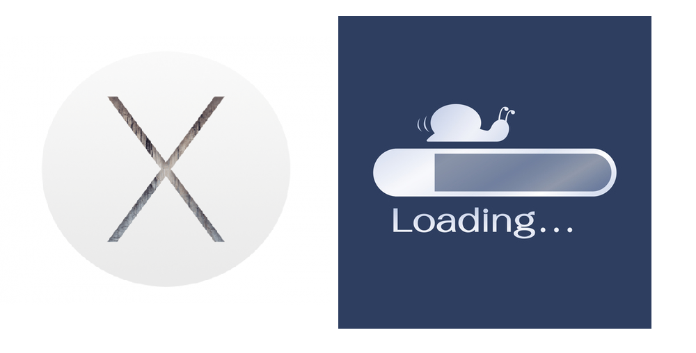 yosemite slow internet