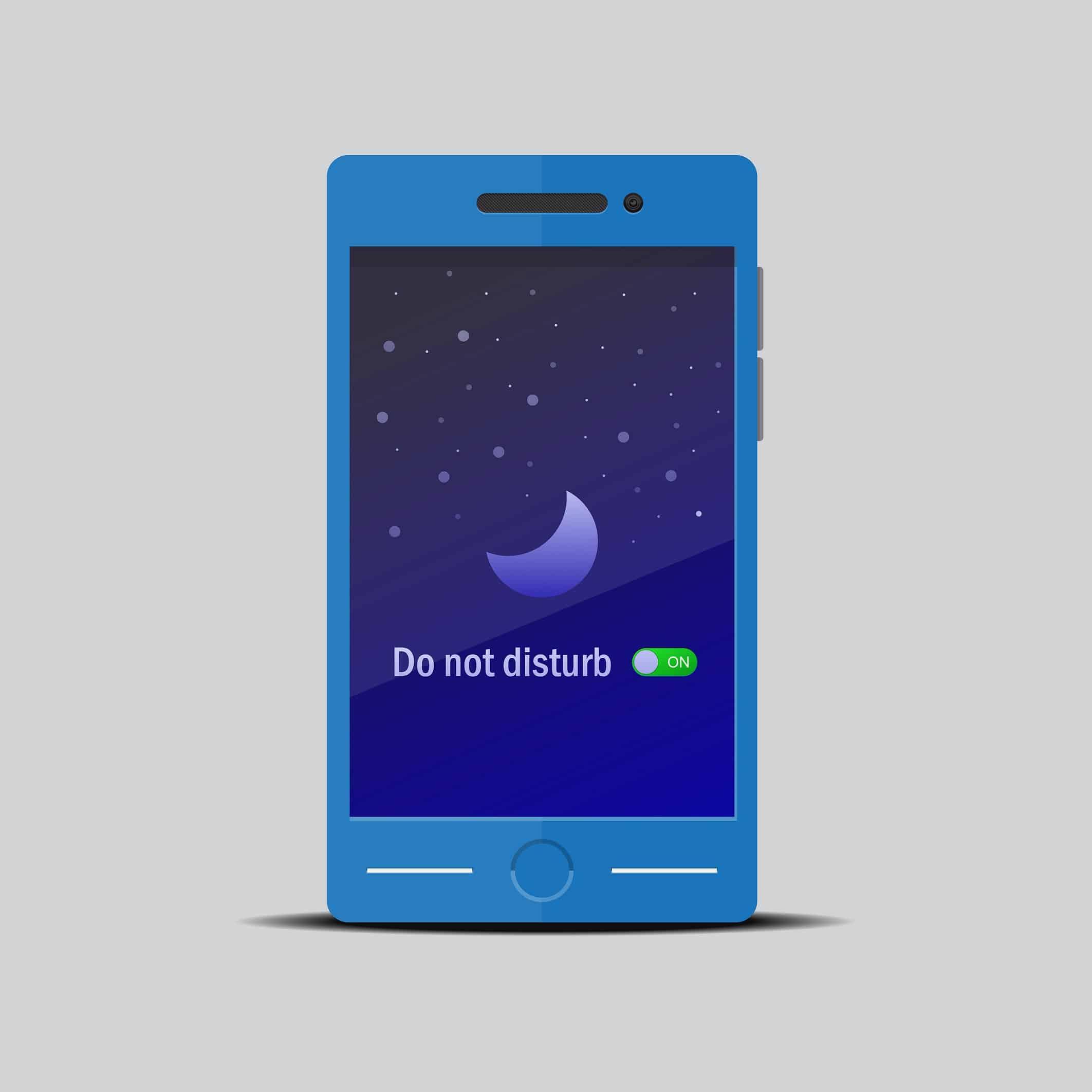 google voice enable do not disturb mode