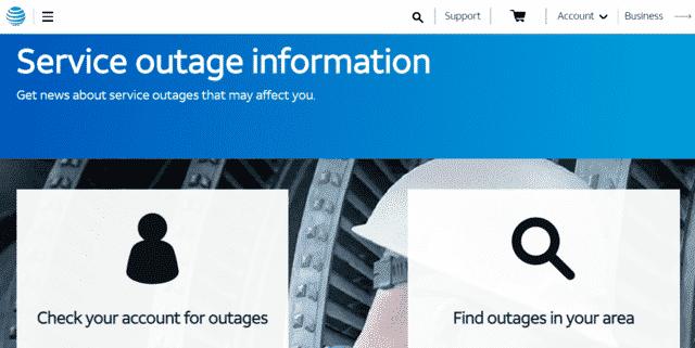 att att internet outage