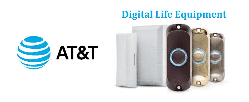 at&t digital life equipment reuse