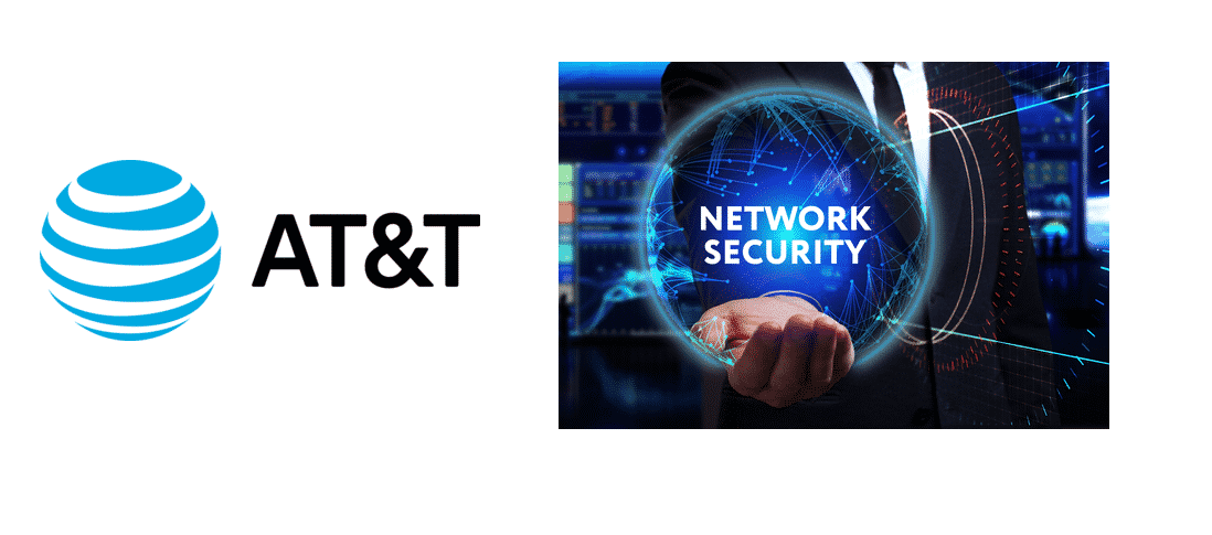 at&t network security key