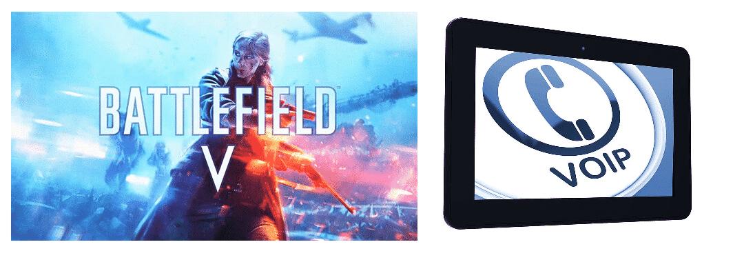 battlefield v voip not working
