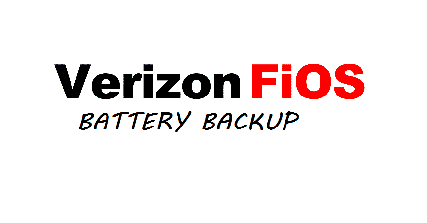 bypass fios battery backup
