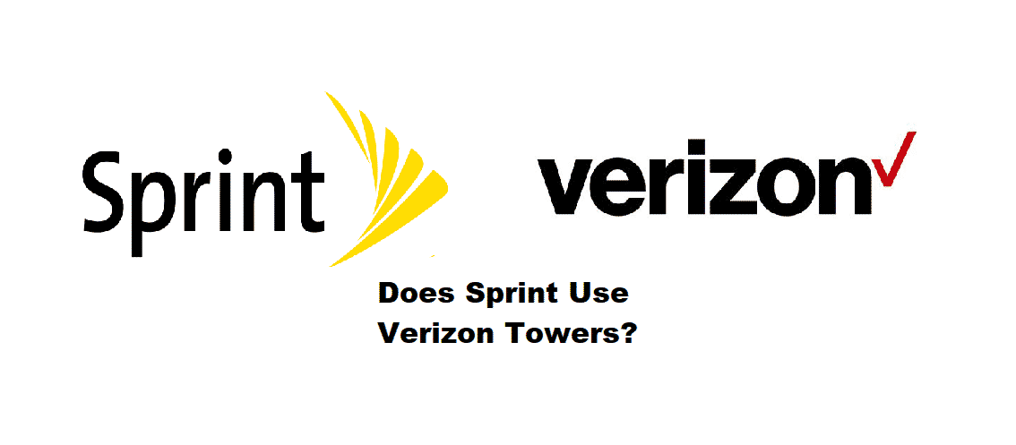 does sprint use verizon towers