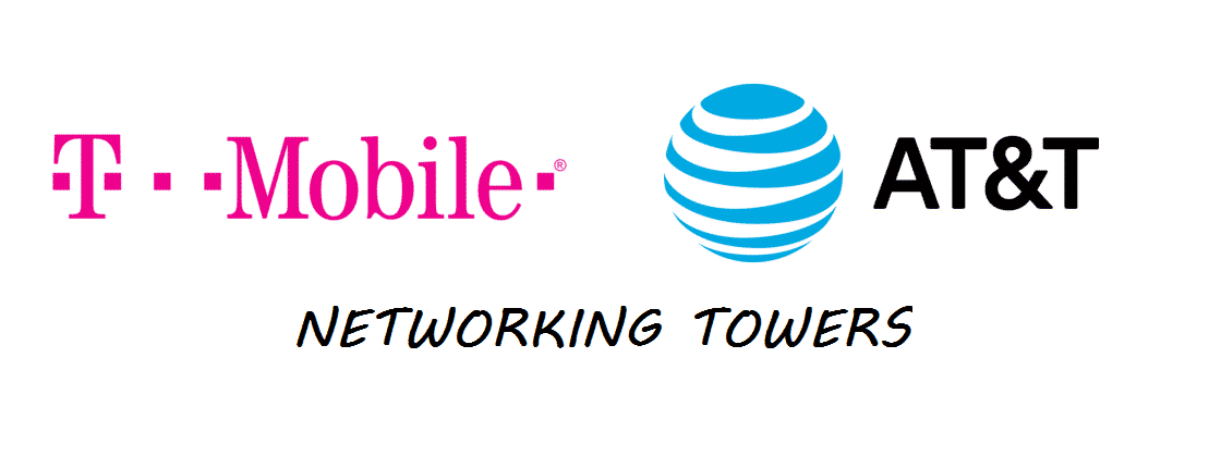 does tmobile use at&t towers