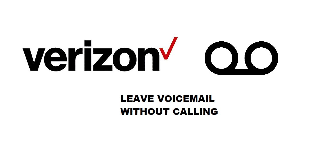 how to leave a voicemail without calling verizon