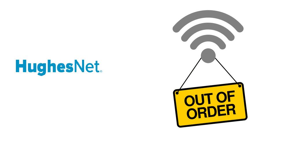hughesnet internet outage