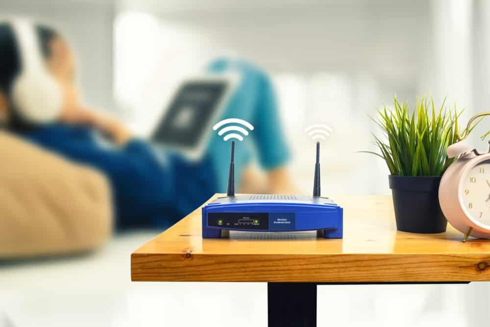 move your router