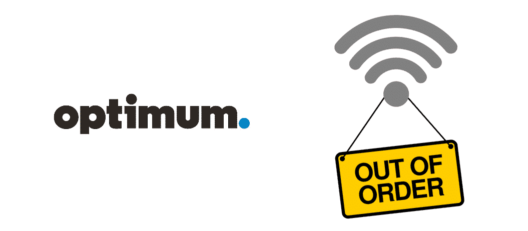 optimum internet outage