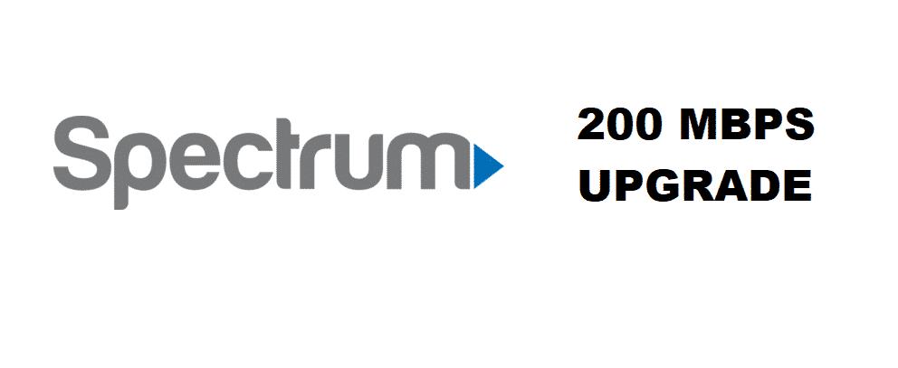 spectrum 200mbps upgrade