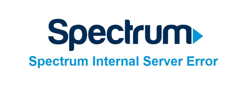 spectrum internal server error