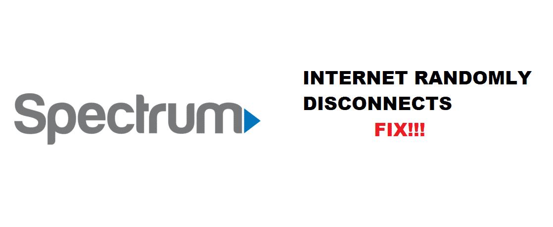 spectrum internet randomly disconnects