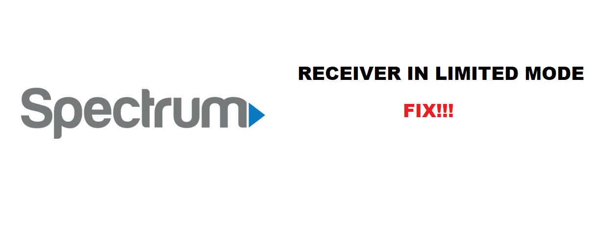 spectrum receiver is in limited mode