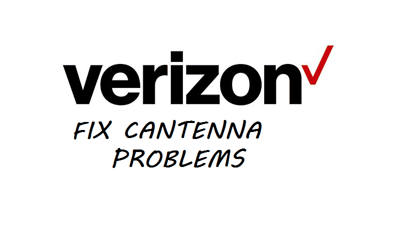 verizon cantenna problems