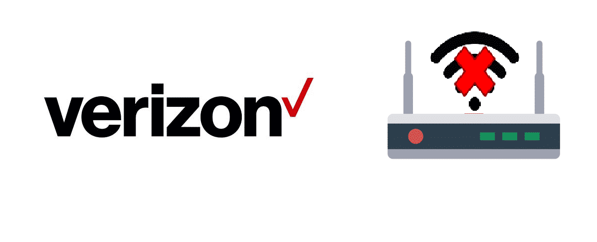 verizon router won't connect to internet
